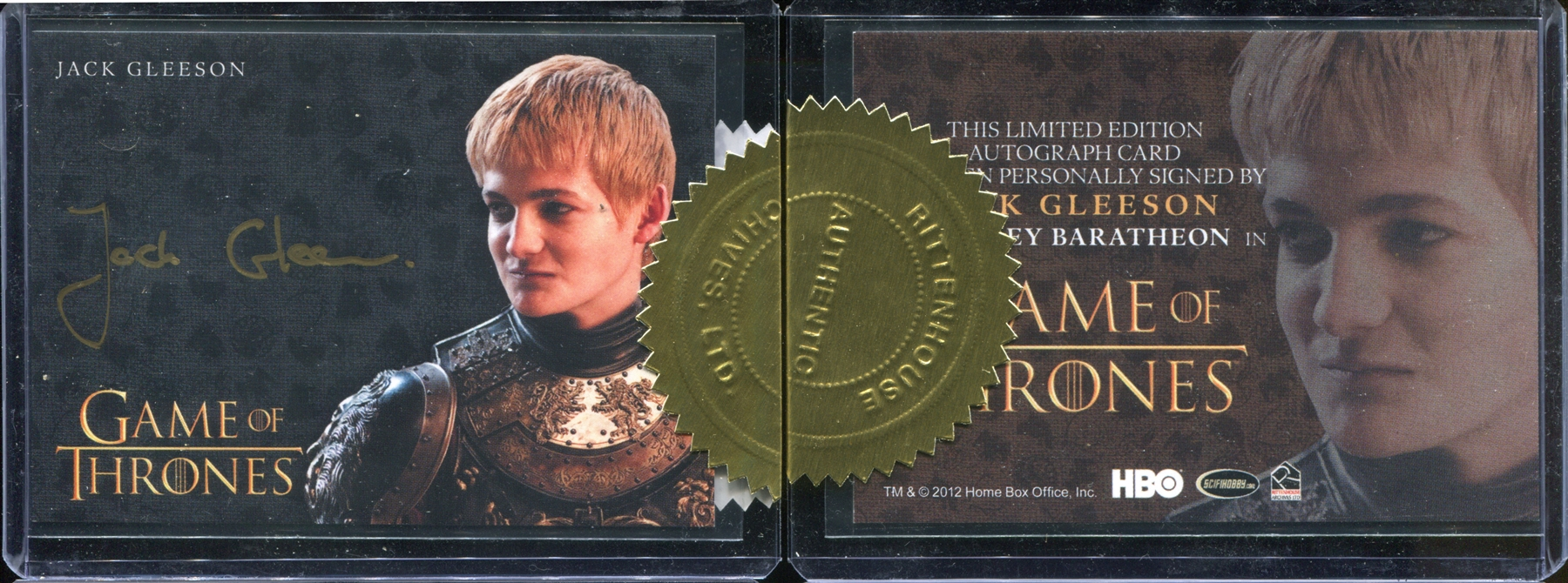 2015 Game of Thrones Season Four Case-Incentives #1 Jack ...
