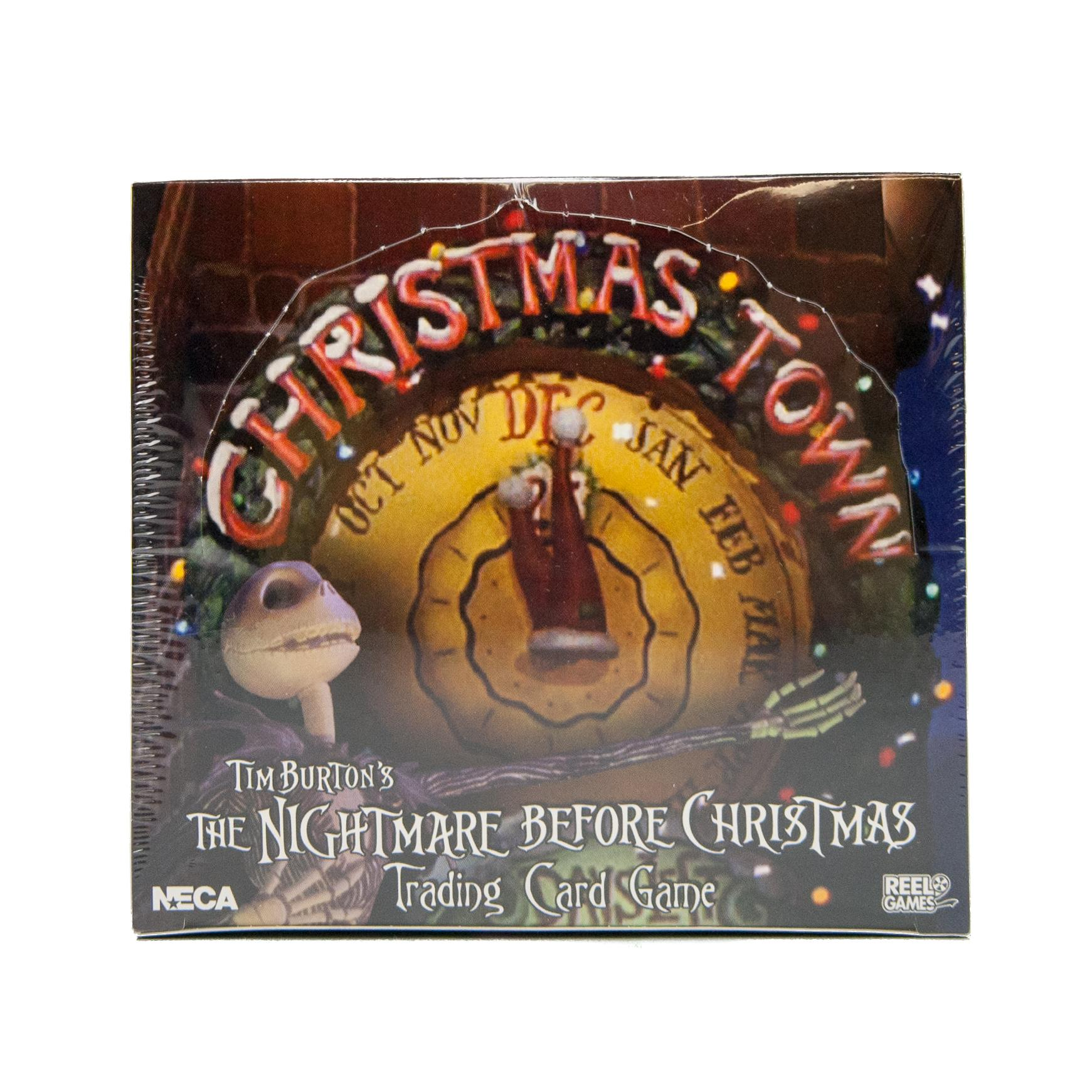 Nightmare Before Christmas TCG Christmas Town Expansion Booster ...