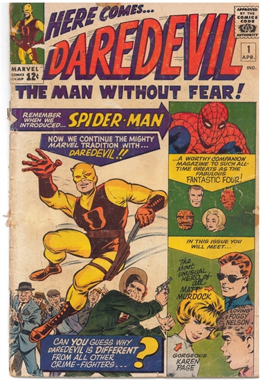 Daredevil #1 GD