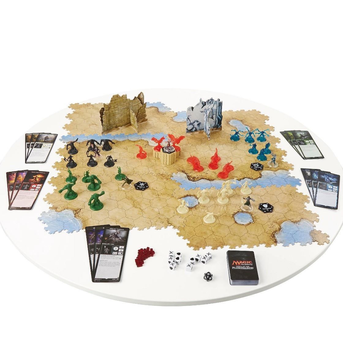 Magic the Gathering: Arena of the Planeswalkers Board Game ... Planeswalker Arena Board Game