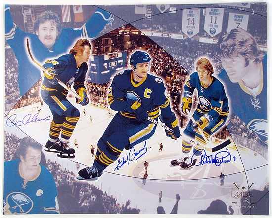 Timecapsule Buffalo Sabres Autographed French Connection ...  Timecapsule Buf...