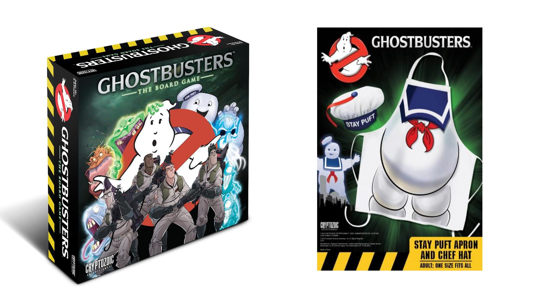 White apron ragnarok - Ghostbusters The Board Game And Stay Puft Apron Chef Hat Set Combo