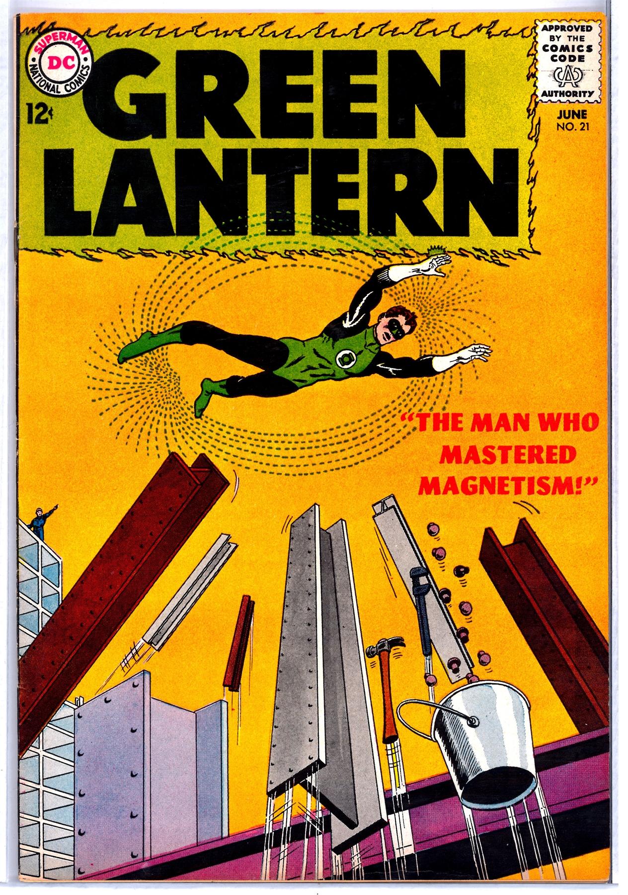 green lantern 21 fn vf da card world