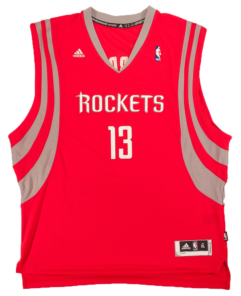 James Harden Autographed Houston Rockets Basketball Jersey