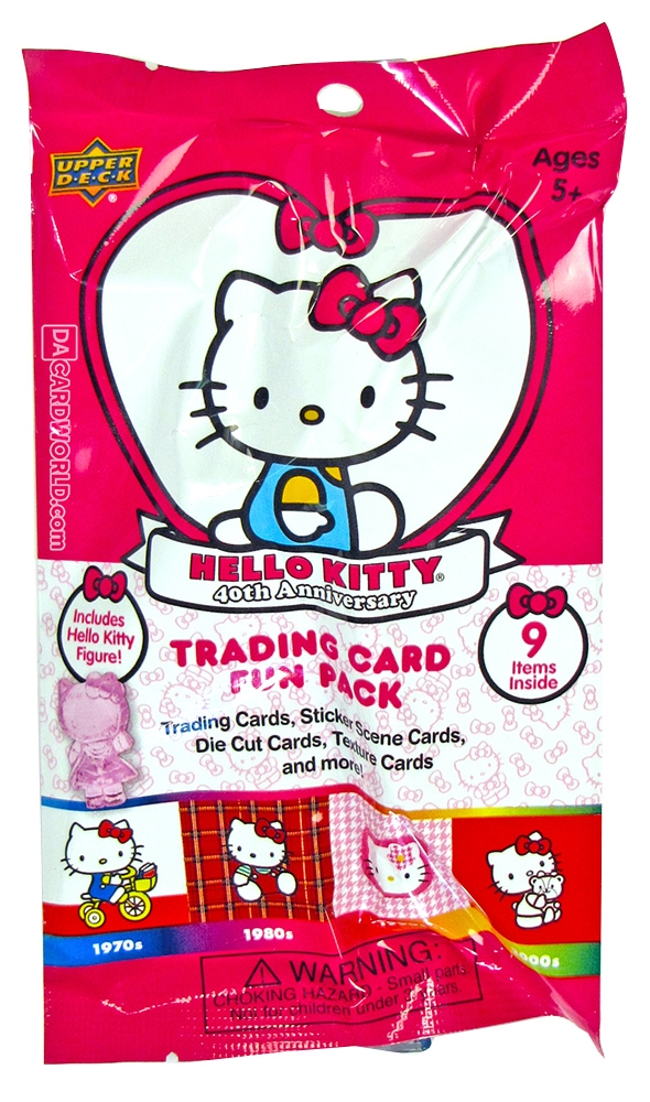 hello kitty 40th anniversary 36 pack box upper deck 2014. Black Bedroom Furniture Sets. Home Design Ideas