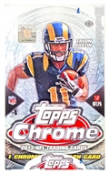 2013 Topps Chrome Football Hobby Box
