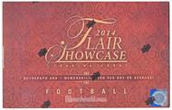 2014 Upper Deck Flair Showcase Football Hobby Box