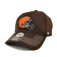 Cleveland Browns '47 Brand Brown Game Time 47 Closer Stretch Fit Hat (Adult One Size)