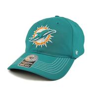 Miami Dolphins '47 Brand Aqua Game Time 47 Closer Stretch Fit Hat (Adult One Size)