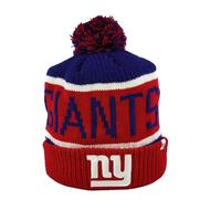 New York Giants '47 Brand Royal Calgary Cuff Knit w/Pom (Adult One Size)