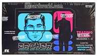 Archer Seasons 1-4 Trading Cards Box (Cryptozoic 2013)