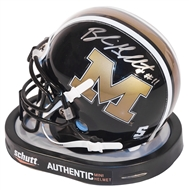 Blaine Gabbert Autographed Missouri Tigers Schutt Mini Football Helmet (Press Pass)
