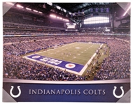 Indianapolis Colts Artissimo Gradient Stadium 22x28 Canvas