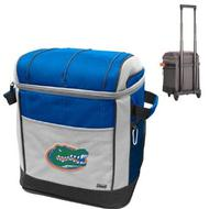Coleman Florida Gators Soft-Side Rolling 50 Can Cooler