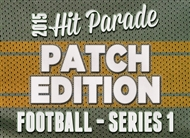 2015 Hit Parade Football Series 1: Patch Edition (6 Hits!)