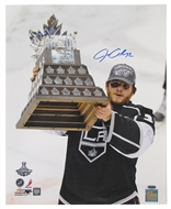 Jonathan Quick Autographed Los Angeles Kings 16X20 Photo (Steiner)