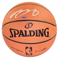 LeBron James Autographed Cleveland Cavaliers Spalding Basketball (Upper Deck)