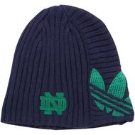 Notre Dame Fighting Irish Adidas Originals Navy Team Cuffless Knit Hat (Adult One Size)