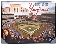 New York Yankees Artissimo Glory Stadium 28x22 Canvas