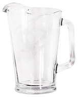 Boelter Pittsburgh Penguins 60 oz Satin Etched Glass Pitcher