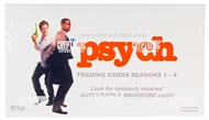 Psych Seasons 1-4 Trading Cards Box (Cryptozoic 2013)