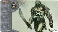 Ultra Pro Magic the Gathering Black Grave Titan Playmat