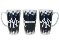 New York Yankees Sculpted Latte Coffee Mug