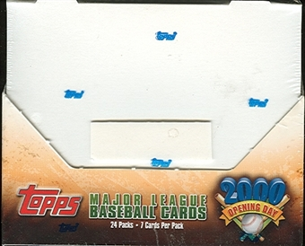 2000 Topps Opening Day Baseball Hobby Box