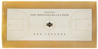 2000 Upper Deck Basketball NBA Legends Master Collection Set