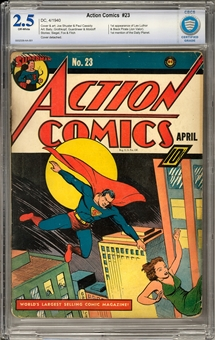 Action Comics #23 CBCS 2.5 (OW) *0002339-AA-001*