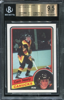 1984/85 O-Pee-Chee Cam Neely Rookie Card BVG 9.5 *0455