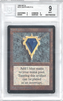 Magic the Gathering Beta Single Mox Sapphire BGS 9 - *0007869358*