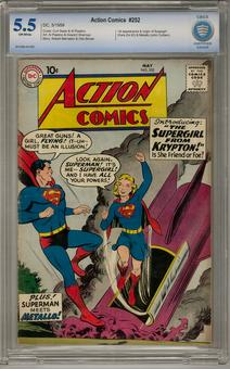 Action Comics #252 CBCS 5.5 (OW) *0014294-AA-002*
