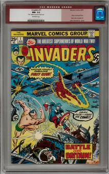 Invaders #1 CGC 9.2 (OW) *0016896013*