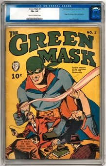 Green Mask #1 CGC 6.5 (C-OW) *0019150016*
