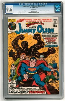 Superman's Pal Jimmy Olsen #137 CGC 9.6 (W) *0043574010*