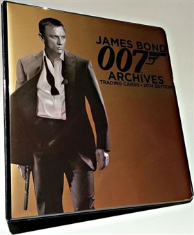 2014 James Bond 007 Archives Trading Cards Album/Binder