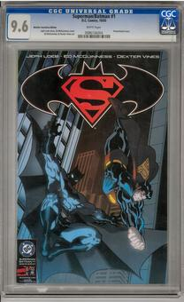 Superman/Batman #1 CGC 9.6 (W) *0086106004*
