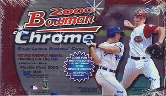 2000 Bowman Chrome Baseball Hobby Box