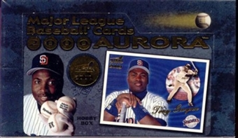 2000 Pacific Aurora Baseball Hobby Box