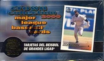2000 Pacific Crown Collection Baseball Wax Box