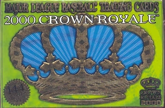 2000 Pacific Crown Royale Baseball Hobby Box