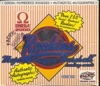 2000 Pacific Omega Baseball Hobby Box