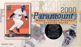 2000 Pacific Paramount Baseball Hobby Box