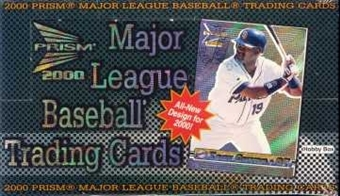 2000 Pacific Prism Baseball Hobby Box