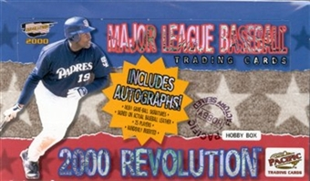 2000 Pacific Revolution Baseball Hobby Box