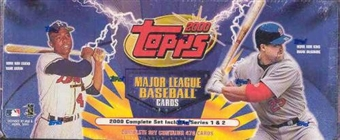 2000 Topps Baseball Retail Factory Set (Blue)
