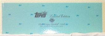 2000 Topps Baseball Limited Edition HTA Tiffany Set