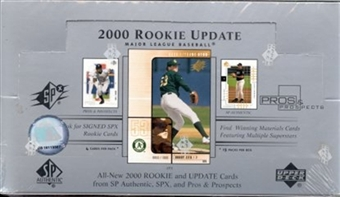 2000 Upper Deck Rookie Update Baseball Hobby Box