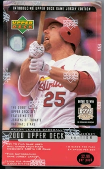 2000 Upper Deck Series 2 Baseball Retail 24 Pack Box
